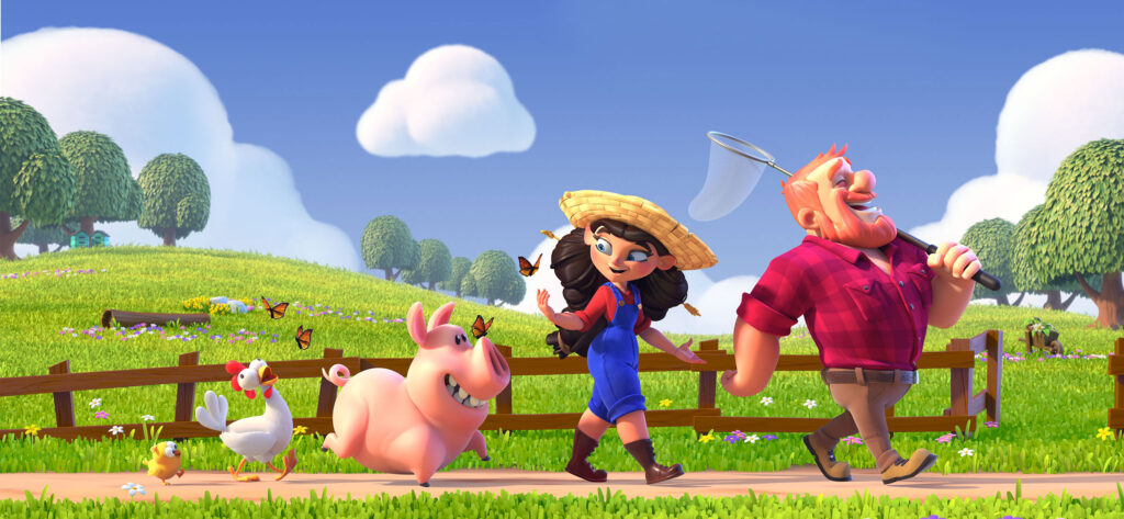Colorful and amazing farm game