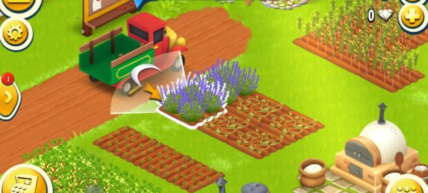Play colorful farm games